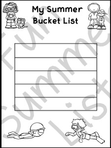 2 Summer Bucket List lined - Copy