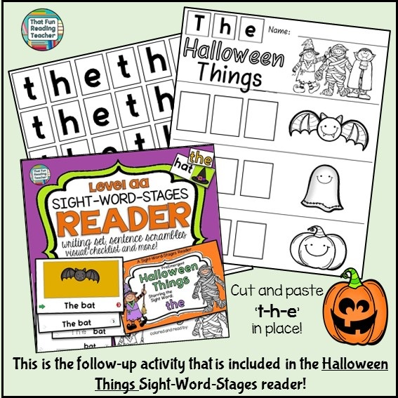 https://www.teacherspayteachers.com/Product/Halloween-Sight-Word-Reader-1966460